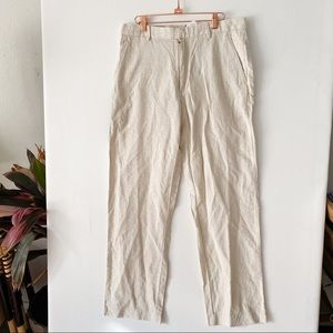 Banana republic khaki stripe pants size 33/22